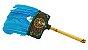 Abanilho Xamanico  Azul Com Branco - Imagem 1