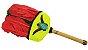 Abanilho Xamânico Vermelho Com Verde - Imagem 1