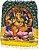 Canga Estampada Mandala Ganesha - Imagem 1