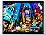 Quadro com moldura - Cidade 4 - Tamanho 21x29,7 cm - Imagem 1