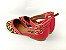 Sapatilha Onça com Vermelho Atrás com Fivela no Tornozelo - Imagem 4