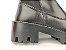 Bota Cano Curto Premium Preta com Elástico Calça Fácil Solado Tratorado - Imagem 10