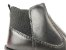 Bota Cano Curto Premium Preta com Elástico Calça Fácil Solado Tratorado - Imagem 4