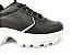 Tênis Chunky Sneaker Energy Preto com Prata - Imagem 7