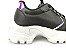 Tênis Chunky Sneaker Energy Preto com Prata - Imagem 3
