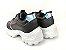 Tênis Chunky Sneaker Energy Preto com Prata - Imagem 5