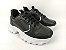 Tênis Chunky Sneaker Energy Preto com Prata - Imagem 1