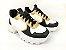 Tênis Chunky Sneaker Energy Branco com Preto e Bronze - Imagem 2