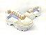 Tênis Chunky Sneaker Energy Branco Off White Acqua Tons Pasteis - Imagem 3