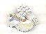 Tênis Chunky Sneaker Energy Branco Off White Acqua Tons Pasteis - Imagem 7