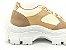Tênis Chunky Sneaker Energy Amendôa com Ouro Light - Imagem 3