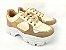 Tênis Chunky Sneaker Energy Amendôa com Ouro Light - Imagem 2