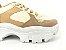 Tênis Chunky Sneaker Energy Amendôa com Ouro Light - Imagem 7