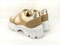 Tênis Chunky Sneaker Energy Amendôa com Ouro Light - Imagem 6