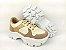 Tênis Chunky Sneaker Energy Amendôa com Ouro Light - Imagem 5