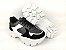 Tênis Chunky Sneaker Energy Preto com Prata e Branco - Imagem 6