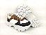 Tênis Chunky Sneaker Energy Branco Onça com Preto - Imagem 7