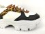 Tênis Chunky Sneaker Energy Branco Onça com Preto - Imagem 3