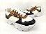 Tênis Chunky Sneaker Energy Branco Onça com Preto - Imagem 6