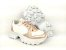 Tênis Chunky Sneaker Energy Branco com Rosê Gold - Imagem 5