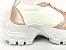 Tênis Chunky Sneaker Energy Branco com Rosê Gold - Imagem 7