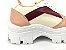 Tênis Chunky Sneaker Energy Candy Marsala - Imagem 4