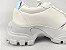 Tênis Chunky Sneaker Energy Branco com Prata - Imagem 4