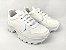 Tênis Chunky Sneaker Energy Branco com Prata - Imagem 2