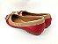Sapatilha Vermelha com Nude Lacinho - Imagem 5