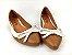Sapatilha Caramelo com Branco Lacinho - Imagem 2