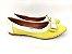 Sapatilha Amarela com Branco Lacinho - Imagem 6