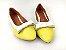Sapatilha Amarela com Branco Lacinho - Imagem 2