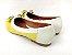 Sapatilha Amarela com Branco Lacinho - Imagem 4