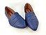 Sapatilha Slipper Azul Marinho com Faixa - Imagem 4