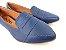 Sapatilha Slipper Azul Marinho com Faixa - Imagem 2
