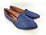 Sapatilha Slipper Azul Marinho com Faixa - Imagem 1