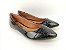 Sapatilha Preta em Verniz com Bico Textura - Imagem 2