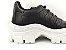 Tênis Chunky Sneaker Preto Clássico Matelassê - Imagem 7