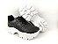 Tênis Chunky Sneaker Preto Clássico Matelassê - Imagem 3