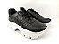 Tênis Chunky Sneaker Preto Clássico Matelassê - Imagem 2