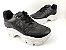 Tênis Chunky Sneaker Preto Clássico Matelassê - Imagem 5