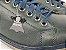 Sapatênis Masculino Azul Marinho Escuro em Couro - Imagem 2