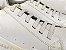 Sapatênis Masculino Off White em Couro Cadarço Elástico Solado Borracha - Imagem 2