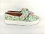 Tênis Slip On Iate Florido Verde em Têxtil Estampado - Imagem 6