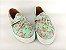 Tênis Slip On Iate Florido Verde em Têxtil Estampado - Imagem 5