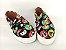 Tênis Slip On Iate Pet Gatinho Preto em Têxtil Estampado - Imagem 5