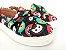 Tênis Slip On Iate Pet Gatinho Preto em Têxtil Estampado - Imagem 2