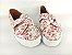Tênis Slip On Iate Florido Rosa em Têxtil Estampado - Imagem 5