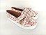 Tênis Slip On Iate Florido Rosa em Têxtil Estampado - Imagem 2