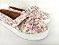 Tênis Slip On Iate Florido Rosa em Têxtil Estampado - Imagem 1